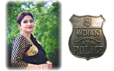 Soumita Saha on Indian Police Commemoration Day